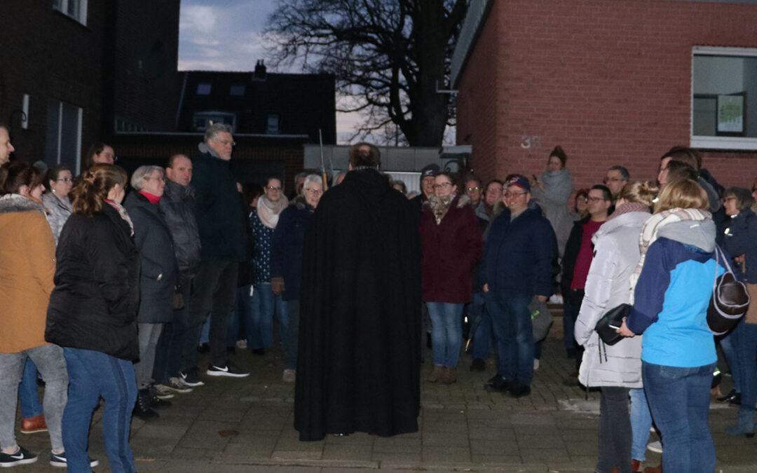 Erster Stadtteilspaziergang Fildeken-Rosenberg